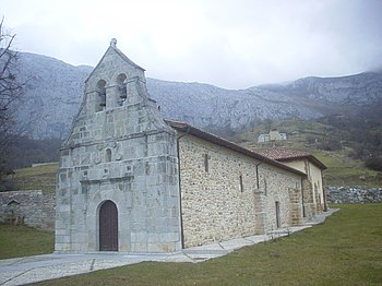 Santuario de la Virgen del Cébrano. Teverga