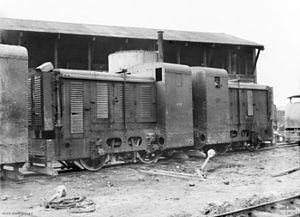 Dick, Kerr & Co. - Image: C01361 40HP petrol locomotives 1917