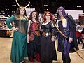 C2E2 (Day 3) 2014, Loki and other cosplayers.jpg