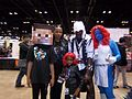 C2E2 (Day 3) 2014, a family of cosplayers 2.jpg