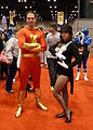 C2E2 2013 - Captain Marvel & Zatanna (8699824327).jpg