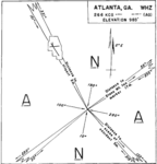 CAB Accident Report, Eastern Air Lines Flight 21 - Atlanta map.png