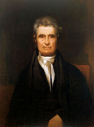 Old Supreme Court Chamber - Chief Justice John Marshall