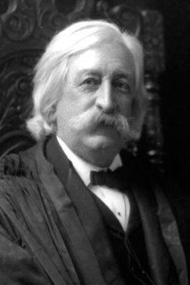 Melville Fuller Chief Justice of the United States (1888–1910)