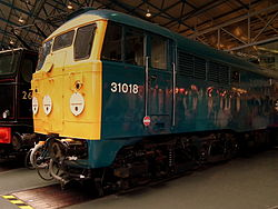 CLASS 31 NATIONAL RAILWAY MUSEUM YORK JUNE 2012 (7344790712).jpg