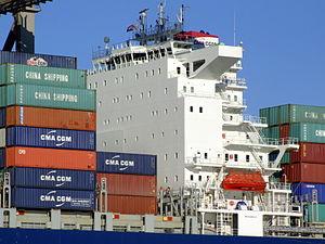 CMA CGM Norma IMO 9299812, Port of Rotterdam, Holland, 06JAN2009 pic8.JPG