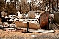 CSIRO ScienceImage 10485 A destroyed property at Kinglake after the Black Saturday bushfires.jpg