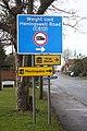 C road sign at Kentford - geograph.org.uk - 1119268.jpg