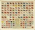 Ca. 1720 map with 88 marine flags - Carte des Pavillons Accompagnee D'Observations Pour en Faire Comprende le Blazon et les differentes devises aussy bien que d'une table alphabetique pour les trouver facilement.jpg