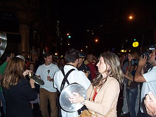 A cacerolazo in Buenos Aires