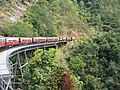 Cairns Kuranda Scenic Railway in Barron Gorge National Park - panoramio.jpg