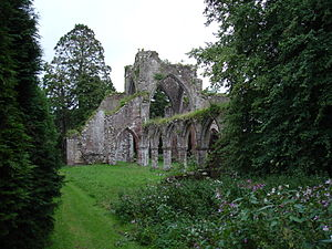 Calder Abbey - Calder Abbey today