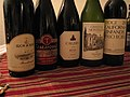 California Wine assortment including two JoP wineries-Ridge & Montelena.jpg