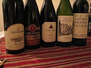 Testarossa Winery - Testarossa Pinot Noir (pictured second from left)