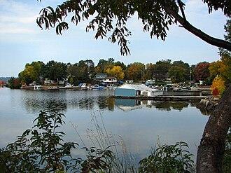 Callander, Ontario - Marina on Callander Bay