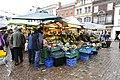 Cambridge Market Square Market Hill Cambridge England Britain UK United Kingdom United Kingdom of Great Britain and Northern Ireland (41158382152).jpg