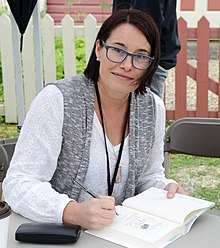 Camilla Gibb at the Eden Mills Writers' Festival in 2015