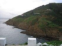Camino Cubierto y Fortín de la Palmera desde el Desnarigado.jpg
