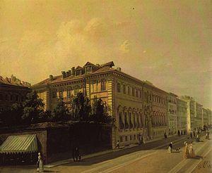 Giuseppe Camino - The Palazzo d'Azeglio in Turin