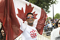 Canadian fan at Hyde Park corner (7741413330).jpg