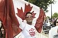 Canadian fan at Hyde Park corner (7741413330).jpg