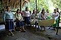 Canciller del Ecuador visita comunidad kichwa Añangu en el Parque Nacional Yasuní (8710443603).jpg