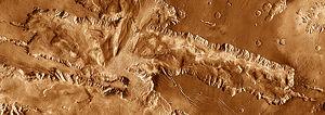 Candor Chasma - Image: Candor Chasma THEMIS mosaic