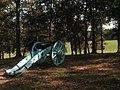 Cannon at battlefield, Horseshoe Bend NMP.jpg