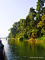 Canoeing at Rapti River - chitwan national park.jpg