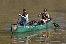File:Canoeing in the Anacostia River (15011160918).jpg