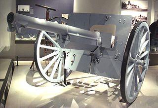 Canon de 75 modèle 1897 quick-firing field artillery piece
