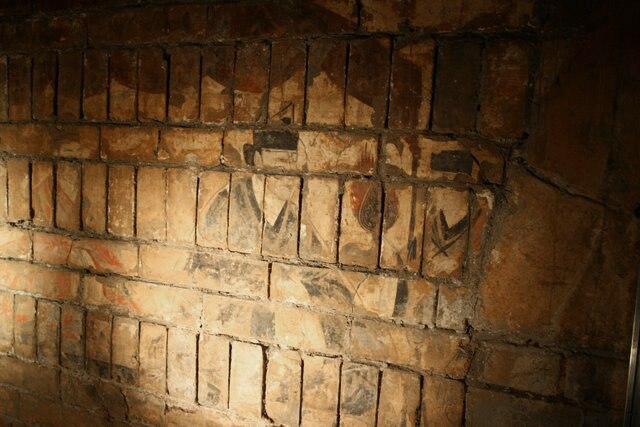 Cao Wei Dynasty fresco, Luoyang