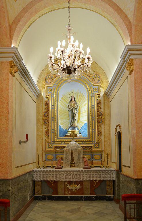 File:Capella de la Comunió, església de la Mare de Déu dels Àngels de Benavit...