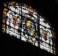 Cappella gaddi di smn, vetrata 1578-80 con stemma gaddi medici, 02.JPG