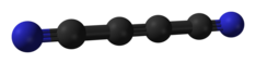 Structure du dicyanoacétylène.