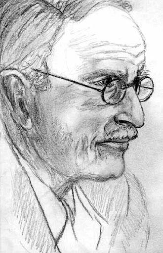 Psychological astrology - Carl Gustav Jung portrait