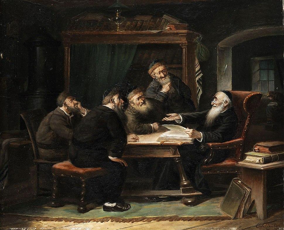 Carl Schleicher Jüdische Szene 1