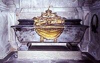 Carl XII of Sweden grave 2007.jpg