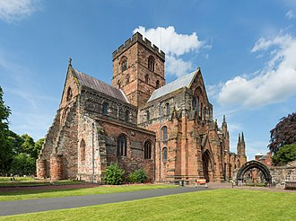 Carlisle Cathedral - Image: Carlisle Cathedral Exterior, Cumbria, UK Diliff