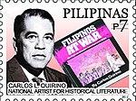 Carlos Quirino 2010 stamp of the Philippines.jpg