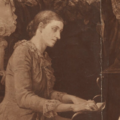 Caroline Grovesnor detail from 'Five daughters of Jane Stuart-Wortley' 1884 (cropped).png