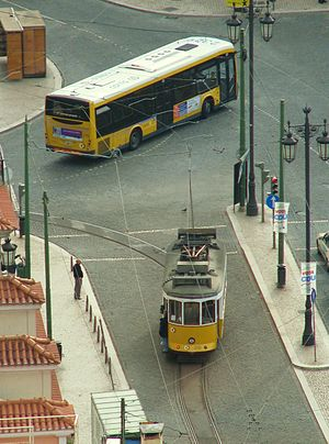 Carris - Carris tram and bus in Lisbon