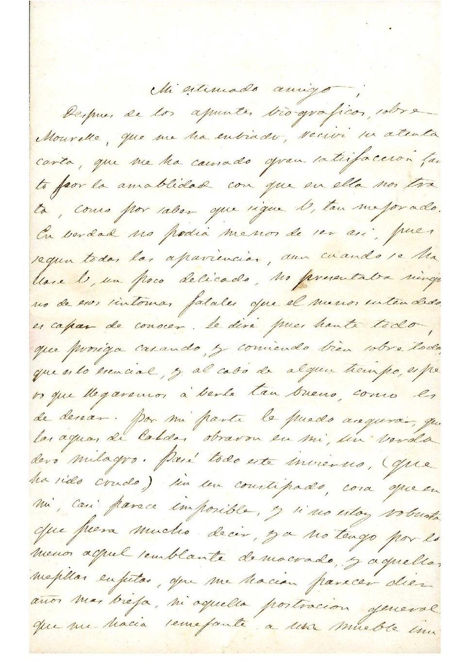 A Eduardo Pondal, 1864.