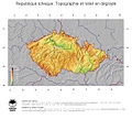 Carte 2, Relief en République Tchèque.jpg
