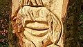 Carving, Killynether Wood (2) - geograph.org.uk - 742055.jpg