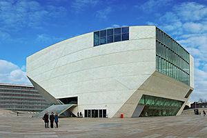 Casa da Música - The distinct polygon of the Casa da Música concert hall