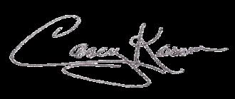 Casey Kasem - Image: Casey Kasem (signature)