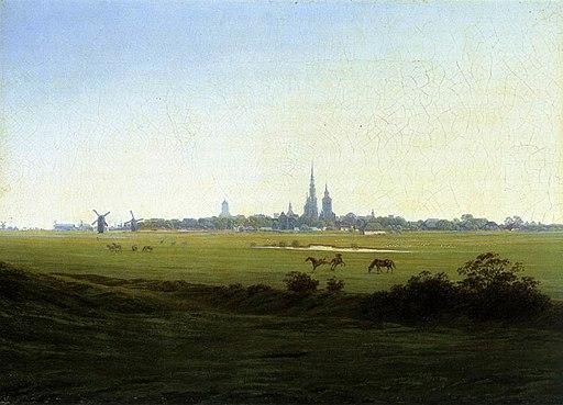 Caspar David Friedrich - Meadows near Greifswald - WGA8267