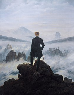 Oil painting by Caspar David Friedrich