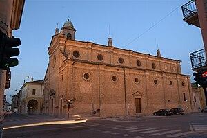 Castelleone - Parish church of Saints Philip and James.